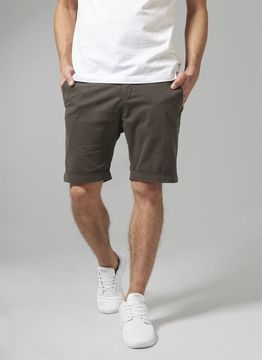 Stretch Turnup Chino Shorts