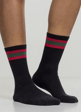 Stripy Sport Socks 2-Pack